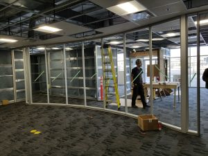 Clean construction 11 300x225 - Curved board room glass frames