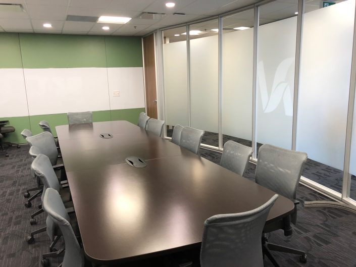 Inside finished Board Room